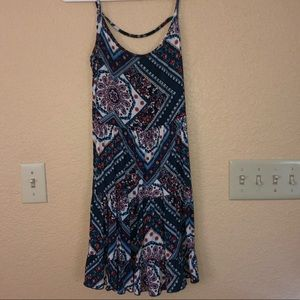 Spaghetti strap summer dress